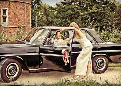 Hochzeitsfotograf Auto